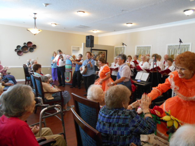 Crown Cypress Assisted Living - Activities - concert