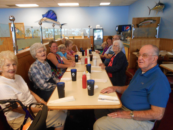 Crown Cypress Assisted Living Eating Out