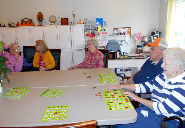 Crown Cypress Assisted Living - bingo