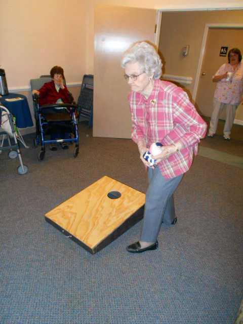 Crown Cypress Assisted Living - Activities - games