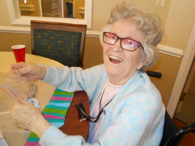 Crown Cypress Assisted Living - Activities - smile