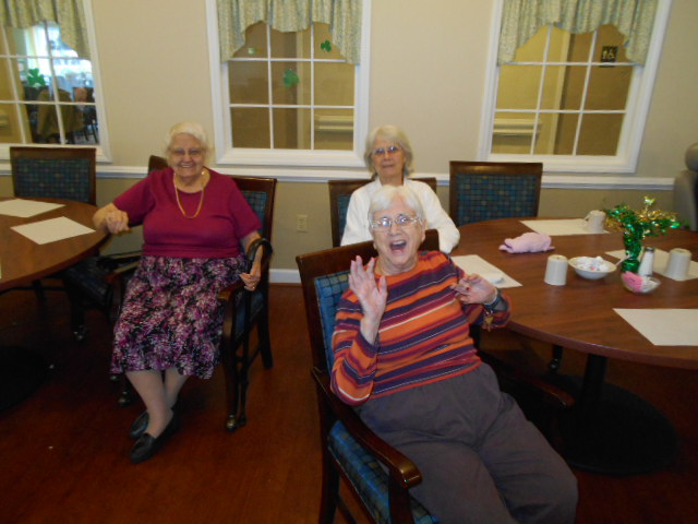 Crown Cypress Assisted Living - Activities - laugh