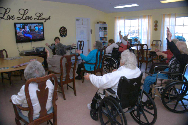 Crown Cypress Assisted Living - exercise