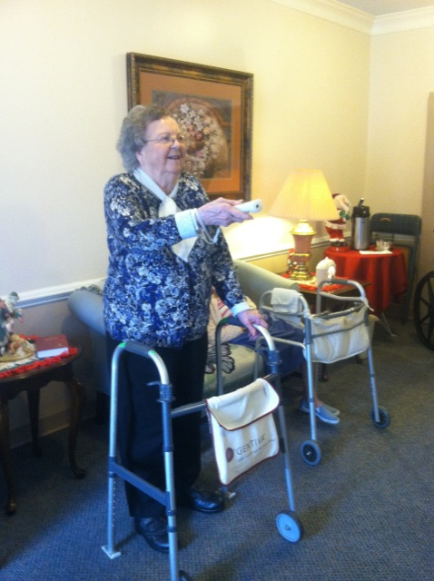 Crown Cypress Assisted Living - Activities - wii